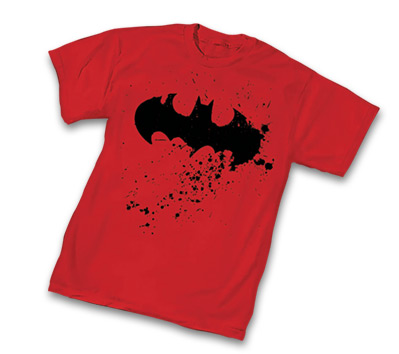 BATMAN: SPLATTER SYMBOL T-Shirt