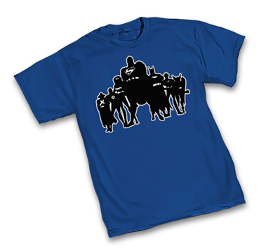JUSTICE LEAGUE UNLIMITED: SILHOUETTE T-Shirt • L/A