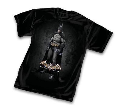 ARKHAM ASYLUM: BATMAN T-Shirt • L/A