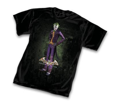 ARKHAM ASYLUM: JOKER T-Shirt • L/A