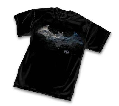 BATMAN SYMBOL GRIT T-Shirt • L/A