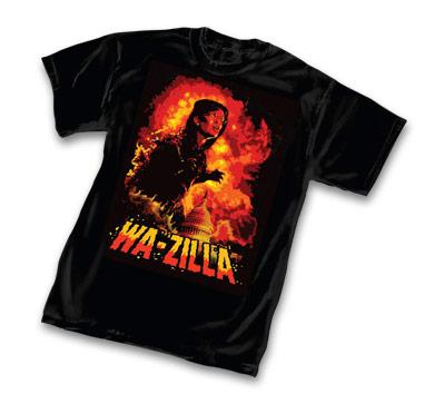WA-ZILLA T-Shirt by Peter Von Sholly