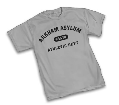 ARKHAM ASYLUM ATHLETIC DEPT. T-Shirt