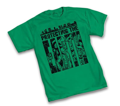 JLA: PROTECTING THE EARTH T-Shirt