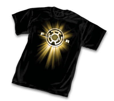 YELLOW LANTERN SYMBOL: FEAR T-Shirt