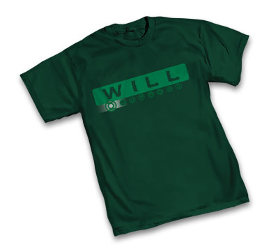 WILL: GREEN LANTERN T-Shirt • L/A