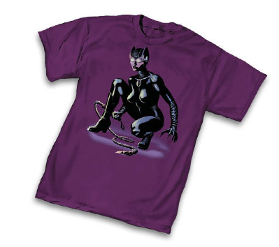CATWOMAN WHIPPED T-Shirt by Paul Gulacy • L/A
