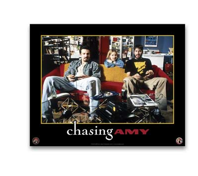 CHASING AMY: COUCH TALK Poster
