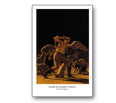 DOC SAVAGE #11: LAND OF ALWAYS NIGHT Print