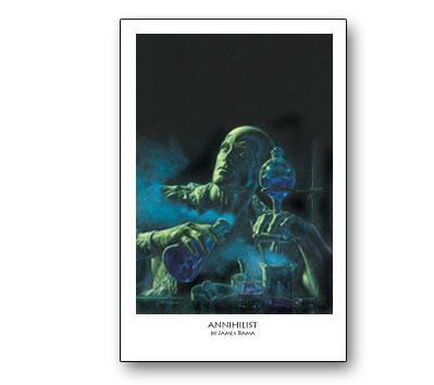 DOC SAVAGE #12: ANNIHILIST Print by Bama