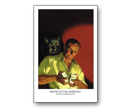 DOC SAVAGE: BRAND OF THE WEREWOLF (unsigned)