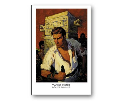 DOC SAVAGE: MAN OF BRONZE Print (unsigned)
