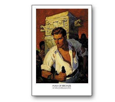 DOC SAVAGE: MAN OF BRONZE Print (unsigned)