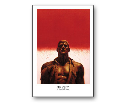DOC SAVAGE # 5: RED SNOW Print by James Bama