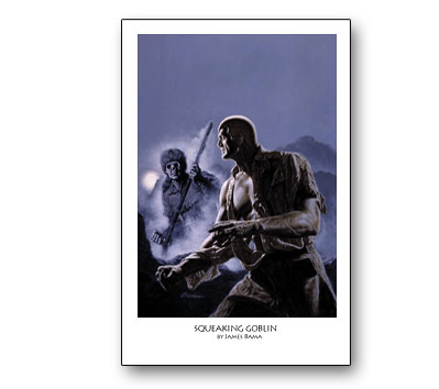 DOC SAVAGE # 3: SQUEAKING GOBLIN Print by Bama