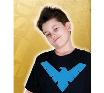 ANIMATED NIGHTWING SYMBOL YOUTH T-Shirt