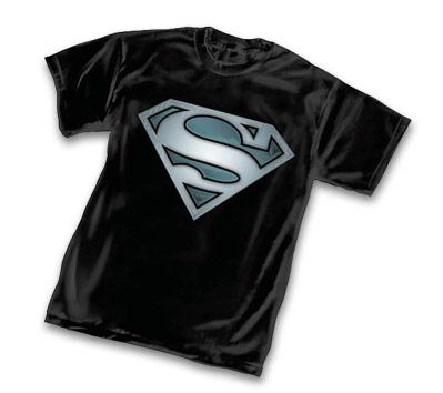 SUPERMAN STEEL SYMBOL T-Shirt • L/A