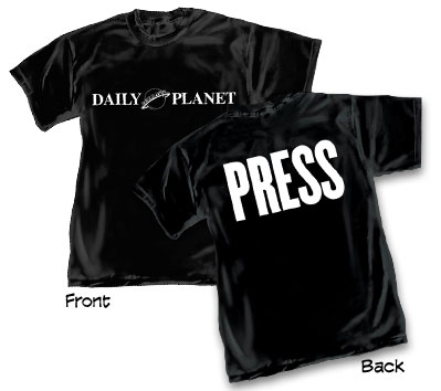 DAILY PLANET: PRESS T-Shirt • L/A