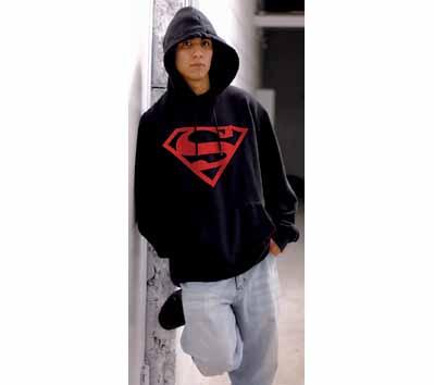 SUPERMAN: CONNER KENT SYMBOL Hoodie