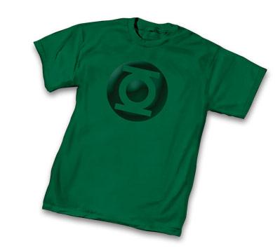 GREEN LANTERN METALIX SYMBOL T-Shirt • L/A
