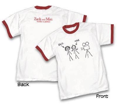 ZACK & MIRI MAKE A PORNO T-Shirt