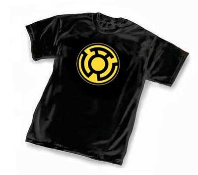 SINESTRO CORPS SYMBOL: BLACK T-Shirt