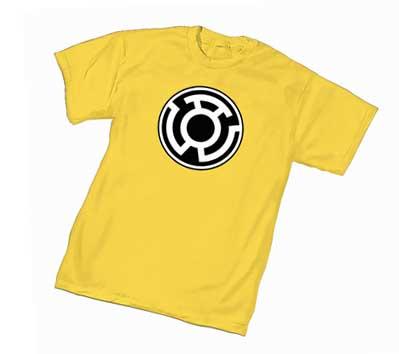 SINESTRO CORPS SYMBOL: GOLD T-Shirt