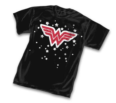 WONDER WOMAN STARS SYMBOL T-Shirt