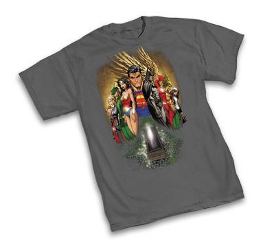 JLA: IDENTITY CRISIS T-Shirt By Michael Turner • L/A
