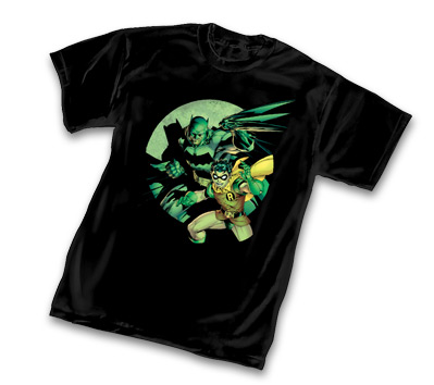 BATMAN & ROBIN T-Shirt by Jim Lee • L/A