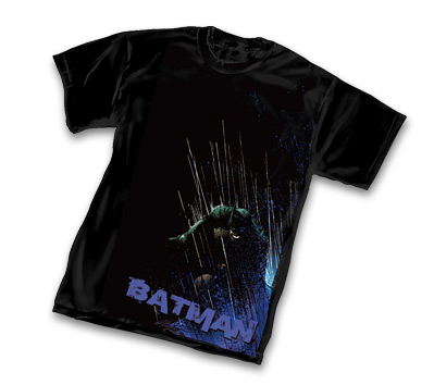 BATMAN: GRIT T-Shirt by Tony Daniels