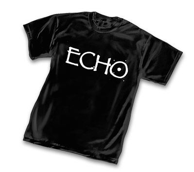 ECHO LOGO (metallix) T-Shirt by Terry Moore
