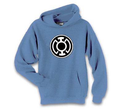 Blue lantern hoodie