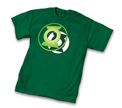 GREEN LANTERN POWER  SYMBOL T-Shirt • L/A