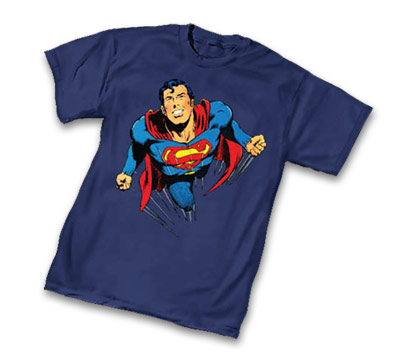 SUPERMAN: FREE FLIGHT T-Shirt by Neal Adams • L/A