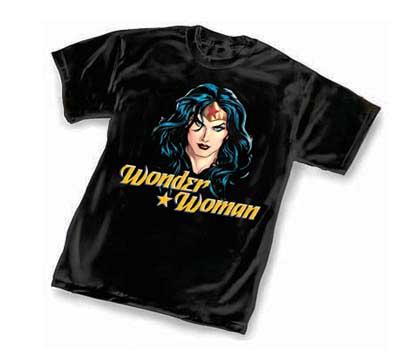 WONDER WOMAN: FACE T-Shirt