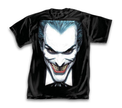 JOKER CLOSE-UP T-Shirt by Alex Ross