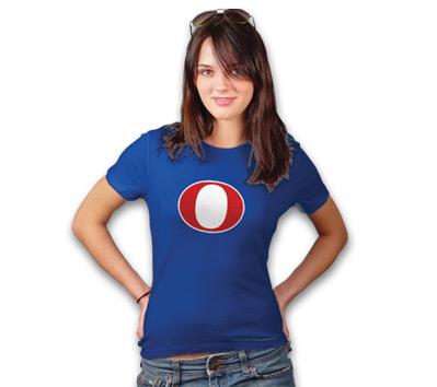 """O"" FOR OBAMA Women's Tee"
