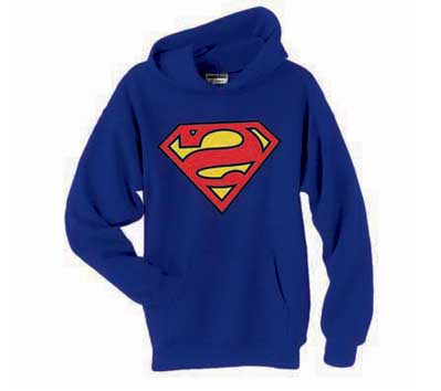 BIZARRO SUPERMAN SYMBOL Hoodie • L/A