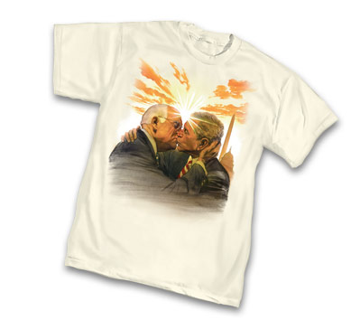 MAKE LOVE NOT WAR T-Shirt by Alex Ross