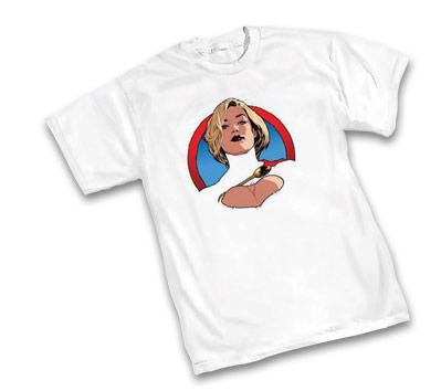 POWER GIRL T-Shirt by Adam Hughes • L/A