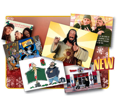 VIEW ASKEW XXXMAS CARDS: DELUXE SET