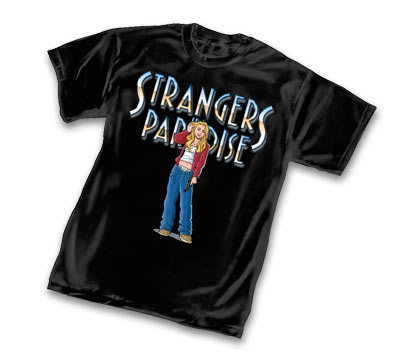 STRANGERS IN PARADISE 2005 T-Shirt by T.Moore • L/A
