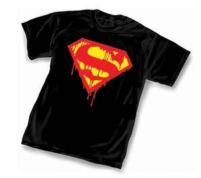 DEATH OF SUPERMAN COMMEMORATIVE T-Shirt • L/A