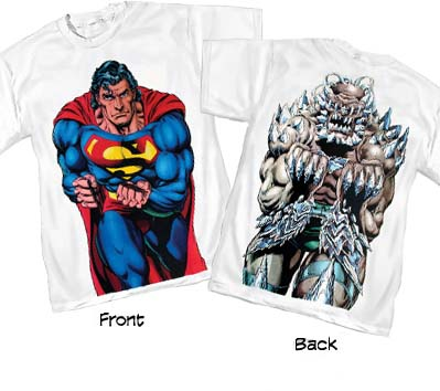 SUPERMAN/DOOMSDAY II T-Shirt • L/A