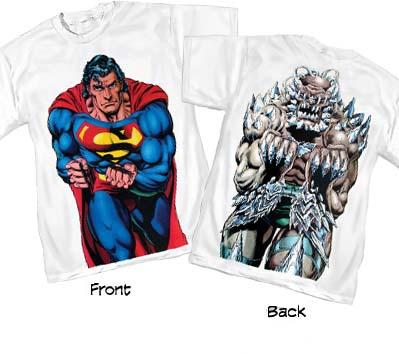 SUPERMAN/DOOMSDAY II T-Shirt • L/A