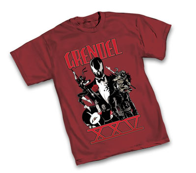 GRENDEL: 25th ANNIVERSARY T-SHIRT by Matt Wagner • L/A