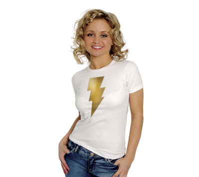 MARY MARVEL METALIX SYMBOL Women's Tee