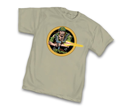 SGT. ROCK: ATTACK T-Shirt by Joe Kubert • L/A