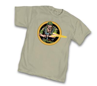 SGT. ROCK: ATTACK T-Shirt by Joe Kubert • L/A